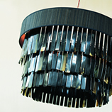 Black Whiskas Chandelier