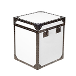 Trunk Small Lacquer White