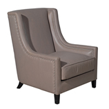 Chair Leather Taupe